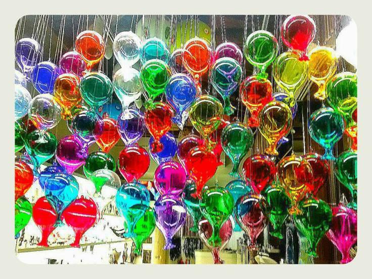 Venezia_palline murano colorate_sfondo