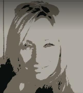 Chrissie Warhol black & white